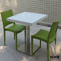 KFC Artificial Stone Eating Tables