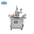 T&D high speed HSR-P-2126 Continuous ribbon rolling gilding hot stamping machine , roll to roll hot foil stamping machine