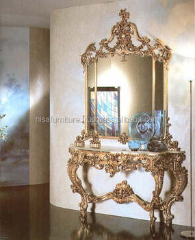 Luxury Antique French Provincial Console And Mirrors Ndt14 Buy
