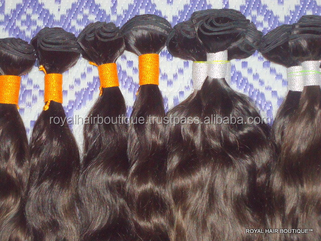 Alibaba Natural indian human hair,Gorgeous raw unprocessed virgin Pure Human hair - 10, 12, 14, 16, 18 and 20 Inches deep wave