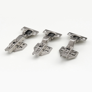 Furniture hardware accessories two way soft close adjustment buffering thicken door fitted hydraulic cabinet hinges