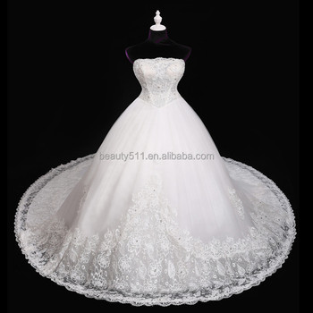 Lace Flower Skirt Prom Gowns Arabic Vintage Appliques Ball Gown ...