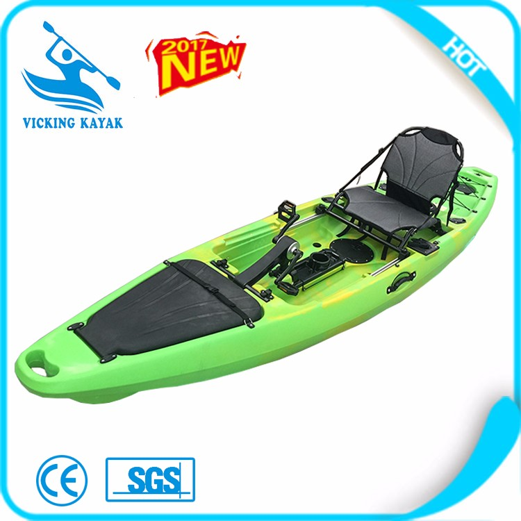3 years warranty 12 39 foot pedal kayak with rudder buy for Fishing kayak with foot pedals