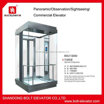 Residential Panoramic Elevator Residential Pneumatic Vacuum Elevator  Residential Villa Lift