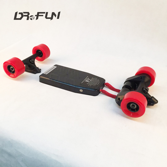 Dual motor long board offroad 2000 electric skateboard kit made in China