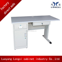 International quality standard steel computer table , compact computer desk for sale