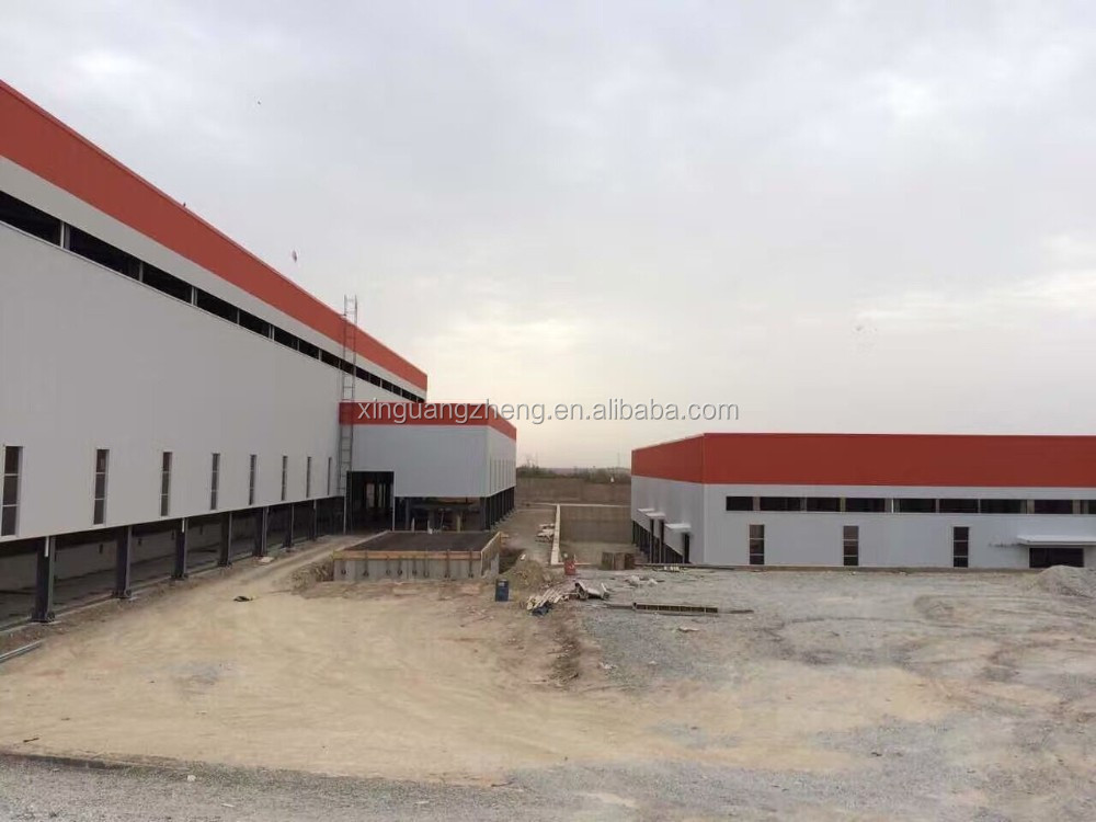 light steel frame structure warehouse