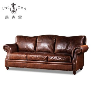 2017 latest French furniture rustic victorian leather sofa buy furniture  from china online