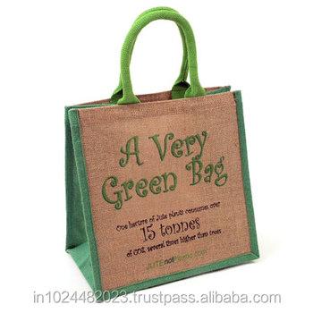 Jute Pin Bags Eco Friendly Whole