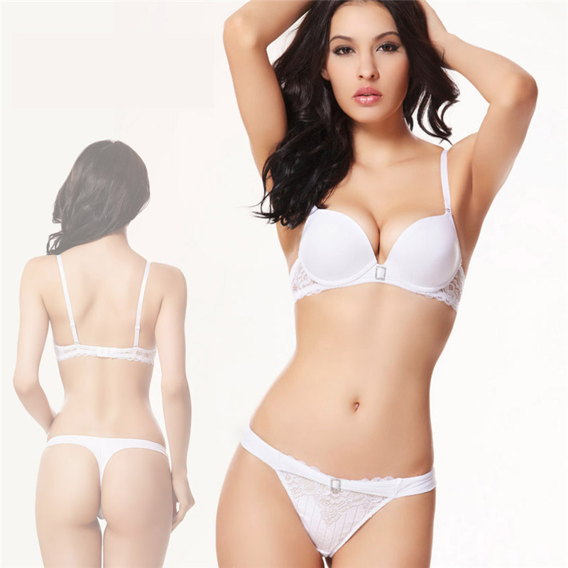 0d249a052f Get Quotations · luxury diamond white wedding lingerie set bra and panty set  ensemble brasieres sexys 32b 32c 34b