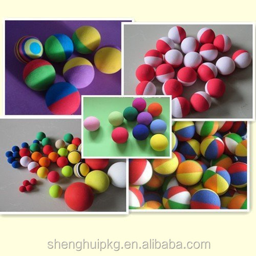 factory directly selling colored foam ball soft play foam ball eva soft foam balls - Colored Foam