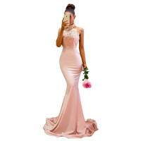 Wedding Party Dress Elegant Ladies Long Mermaid Gowns Mermaid Evening 2018