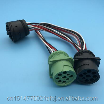 New Design J1939 To J1708 Cable Wire Harness J1939 to J1708 Splitter Cable