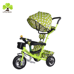 new arrival steel tricycle 3 in 1 tricycle baby/high quality air tire china trike luxury baby tricycle /CE baby tricycle china