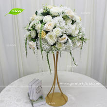 GNW CTRA-1705008 Ivory and greenery floral decor wedding decorations for sale