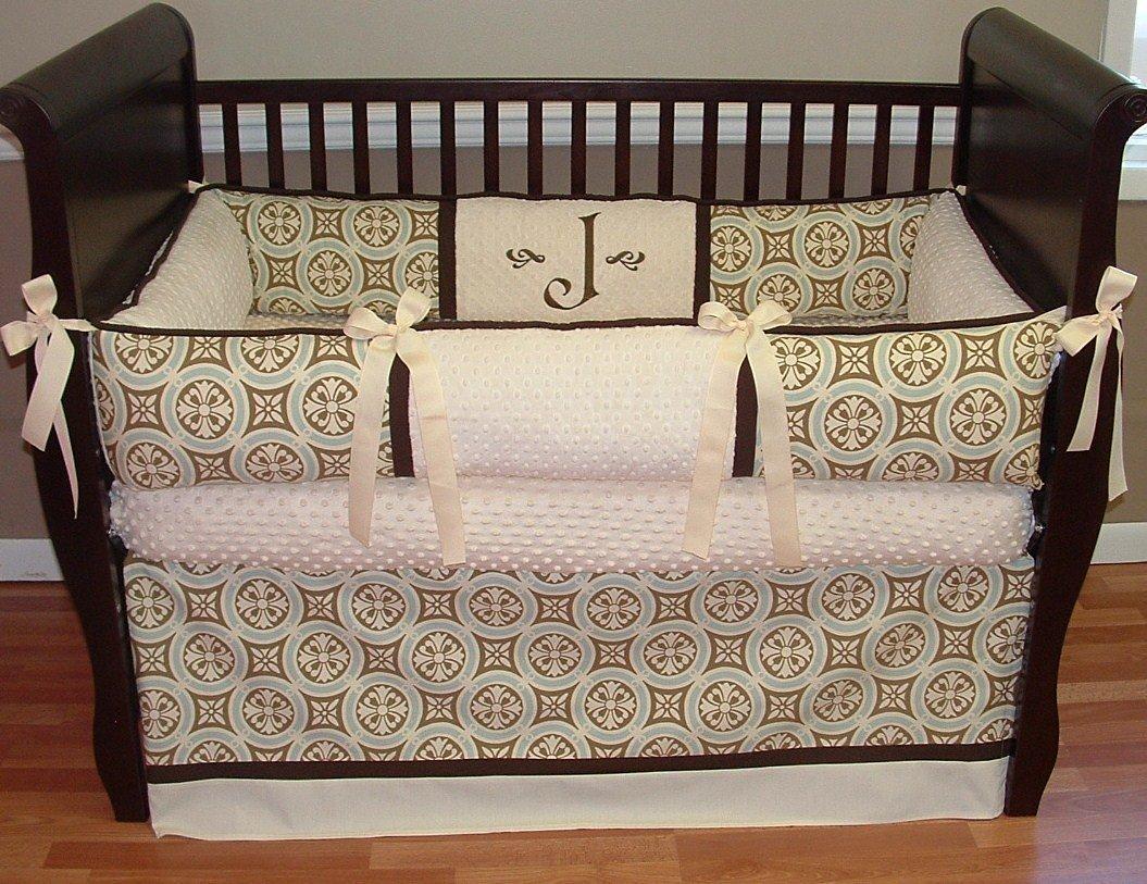 Modpeapod Minton Ecru Breathable Baby Bedding Set