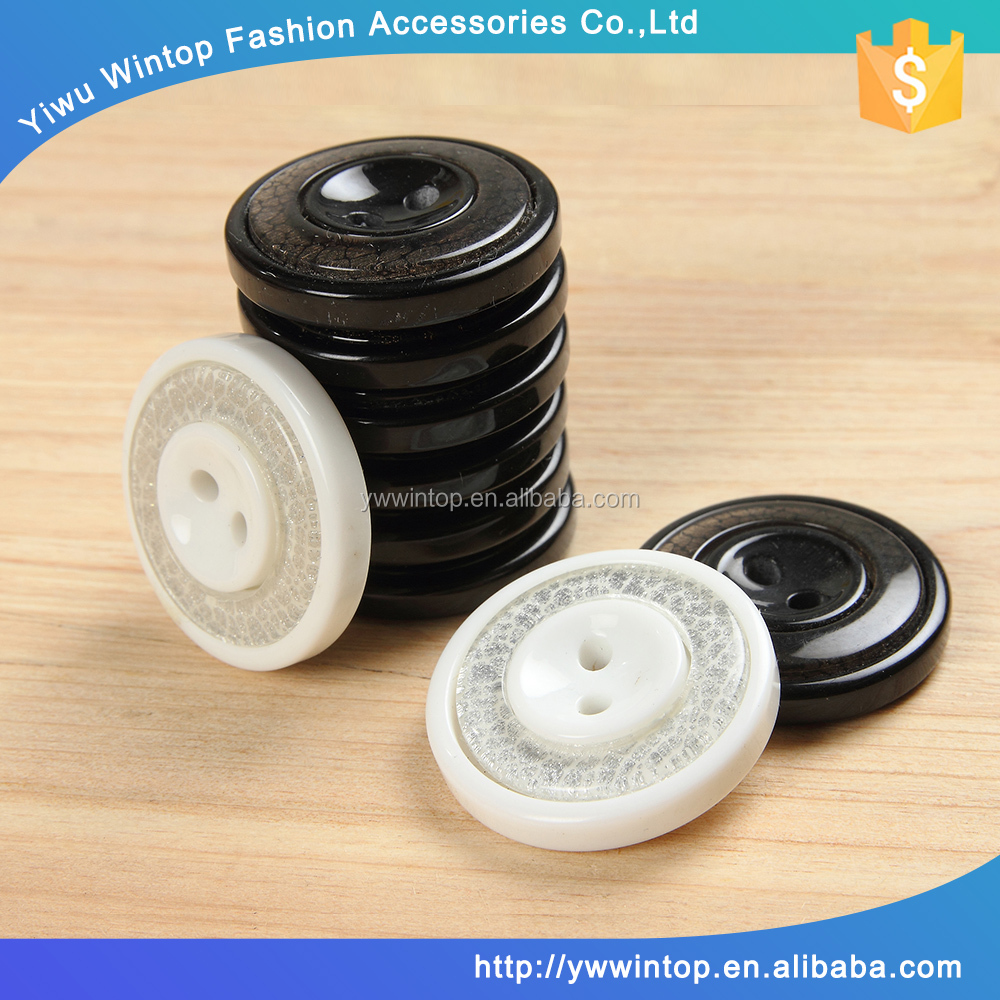 for sewing fabric covered decorative fashion two hole resin button