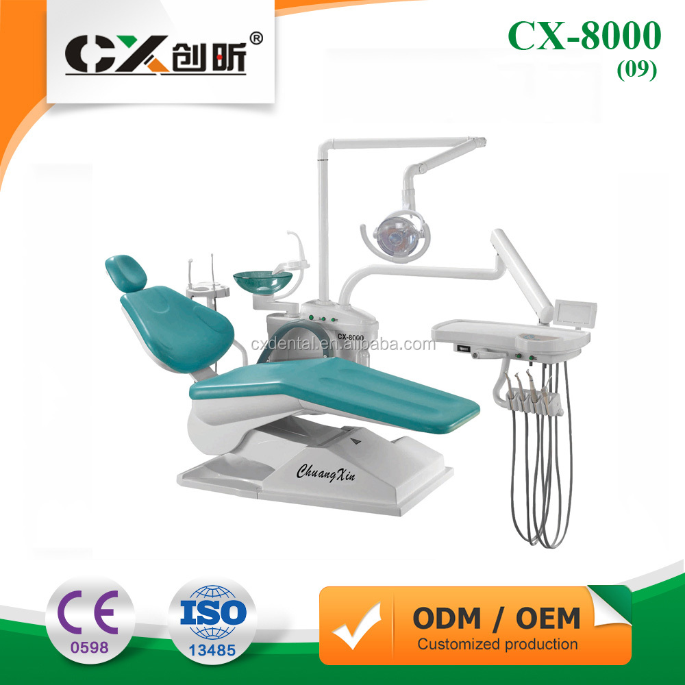 Dental chair du 3200 shanghai dynamic industry co ltd - Complete Integral Dental Unit Chair Ce Approved Electric Treatment Machine Noiseless Cx 8000 09