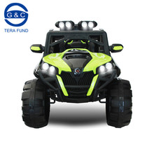 Chinese new ride on car jeep 12v remote control kids electric 4X4 toy car