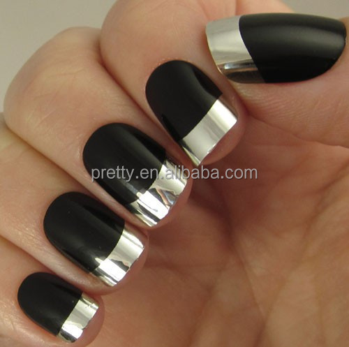 Metallix Artificial Nails Collection Nail Kits Includes Glue Licator And A Mini