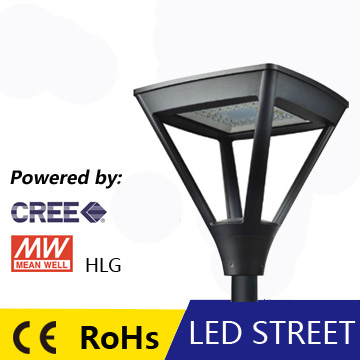 new design led garden bollard light