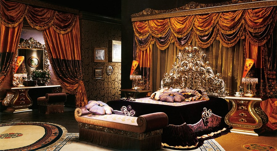 European style luxury imperial wood carved bedroom set top - Most expensive bedroom furniture ...