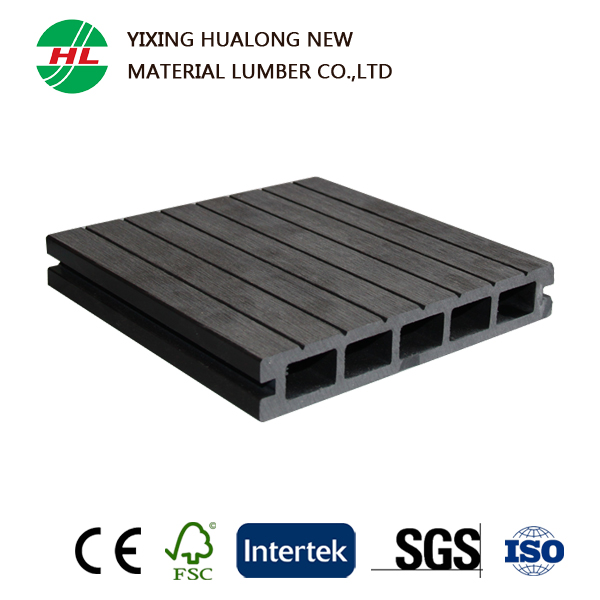 Waterproof WPC Decking Wood plastic Composite Board for Outdoor Flooring