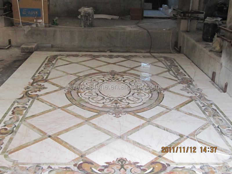 Marble Floor Marquetry : Italian inlay marble flooring design buy