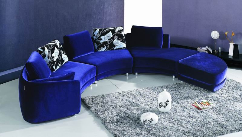 Sectional Couch Round Corner Sofa