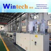 2017 new high performance hdpe pvc electric conduit pipe extrusion making machine/line