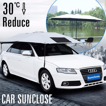 Sunclose Factory Waterproof Car Cover Sun Protect Tent For Roof Rack Auto Square Vet Umbrella Buy Tent For Roof Rack Waterproof Car Cover Sun