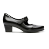 New fashion genuine leather round toe chunky heel mary jane shoes
