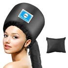 2019 Upgraded Soft Adjustable Large Hooded Bonnet Hair Dryer Attachment for Beauty Care and Drying Heat Cap
