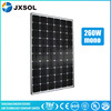 Glass A solar module high efficiency solar energy product price per watt solar panel 260w for home use