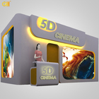 Most Popular 5D Cinema Animation Movies , 5D Theater Movie With Bubble,Rain,Wind Special Effect