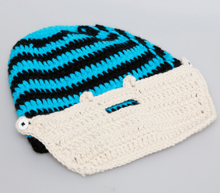 f6bc91aa14d Wholesale New Autumn Winter Fashion Men S Windproof Beard Hat Funny ...