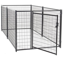 6ft*5ft or 6ft*10ft weld dog cage / large dog backyard kennels