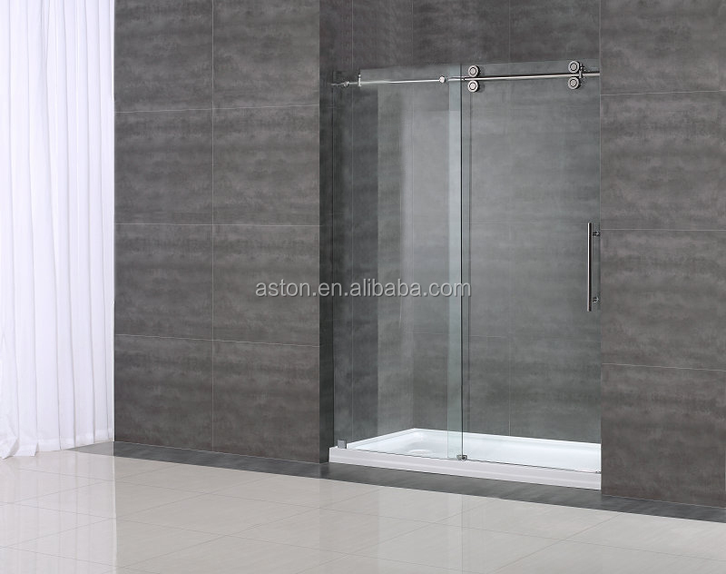 Half Glass Shower Doors, Half Glass Shower Doors Suppliers and ...