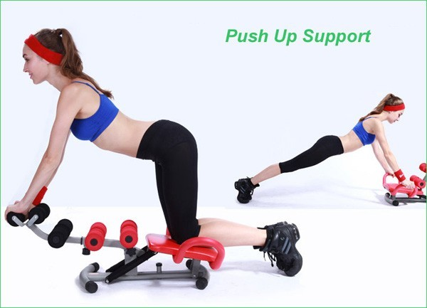 Js-060h Home Gym Fitness Body Building Waist And Twisting Exercise ...