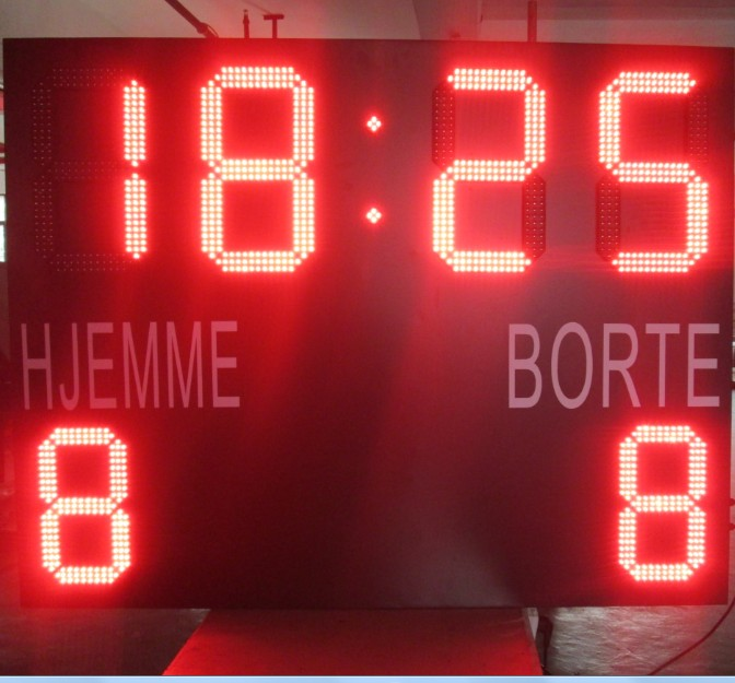 multi sports 7-Segment indoor usage led score board