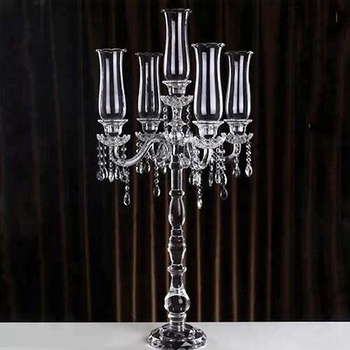 Restaurant Table Lamps Crystal Candelabra Tall Candle Holders For - Restaurant candle holders for table