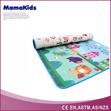 Can do logo change color folding soft play mat