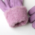 Daily life use cheap fashion women's sheepskin gloves five fingers in winter to keep warm.
