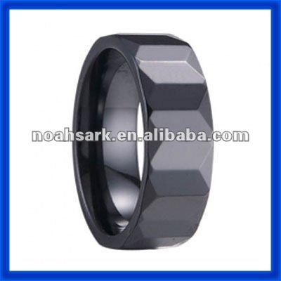 Fashion jewelry hot trendy Ceramic Ladder Ring TPCR408#
