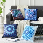 Colorful Bohemian Style Cushion Cover Indian Mandala Geometric Travel Polyester Pillow Covers