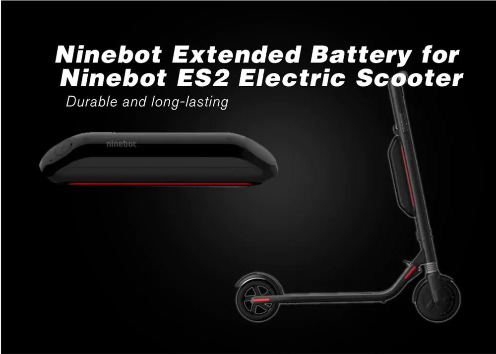 Original Ninebot Segway 187wh 5200mah Li-ion Battery Expansion Battery For  Es1 Es2 Es4 Electric Scooter - Buy Ninebot Es2,Segway Ninebot Es2,Scooter