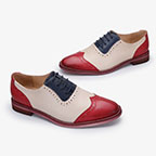 Brogues Shoes Manufacturer Handmade Oxfords Leather Male Casual Leather Shoes YINZO Italian Genuine Men qHw4pZT