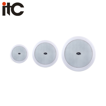 Pa 5 Inch 3 Watt Coaxial White Cover Steel Grille Ceiling Mounted Surround Sound Speakers Buy Ceiling Speaker Mount 3 Watt Ceiling Mounted Surrond