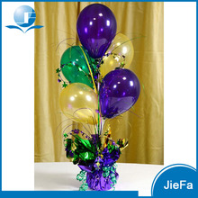 Popular Hot Selling Plastic Foil Decoration Wedding Centerpieces Balloon Weight