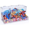 Plexiglass PMMA Lucite acrylic candy cabinet/supermarket cabinet/storage cabinet